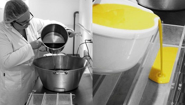 savon saponifié à froid et shampoing solide